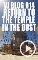 In 2012 we return to VJ at the Opulent Temple - the Largest Dance stage at Burning Man. We Catch up with VJ Vapor and meet some VJs and video artists from around the world including VJ Infinight, Aeon Child , Fadein Fadeout, VJ Silhoette Psyberpixie and Max Nova.